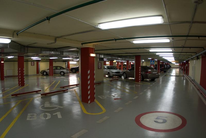разметка парковок